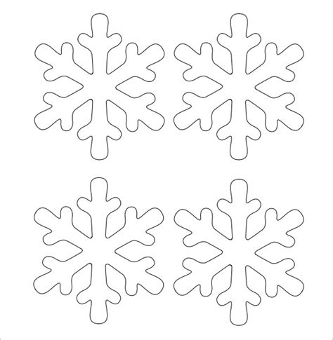 printable snowflake template pdf search results for free printable snowflake patterns