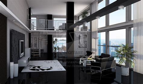 modern loft apartment dansawyer black loft apartment interior design ideas