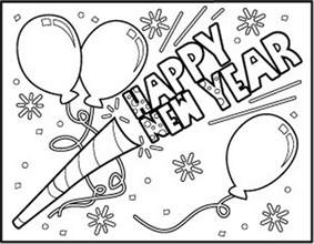 Quot New Year Quot Coloring Pages Holidays And Observances New Year Coloring Page