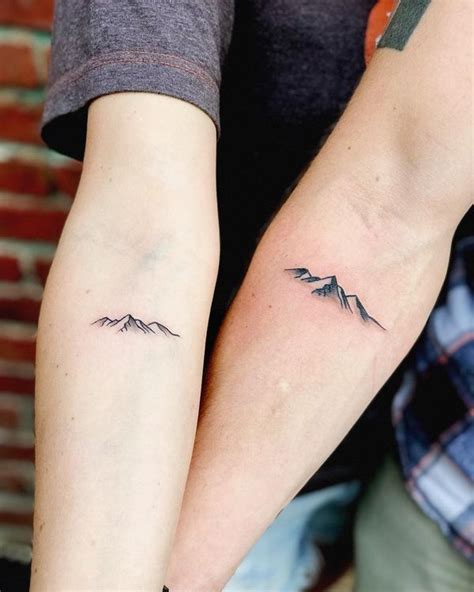 mountain wrist tattoo mountain tattoos top mountain range and design