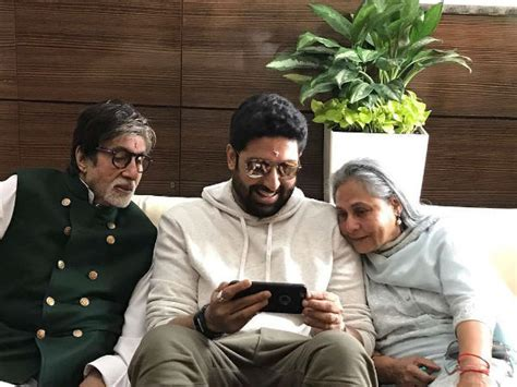 An Inside Picture From Jalsa: Abhishek Bachchan Poses With ...
