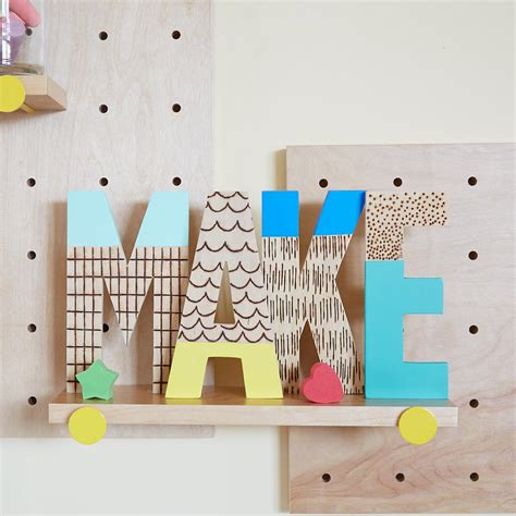 Decorating Ideas For Wooden Letters Decorating With Wooden Letters