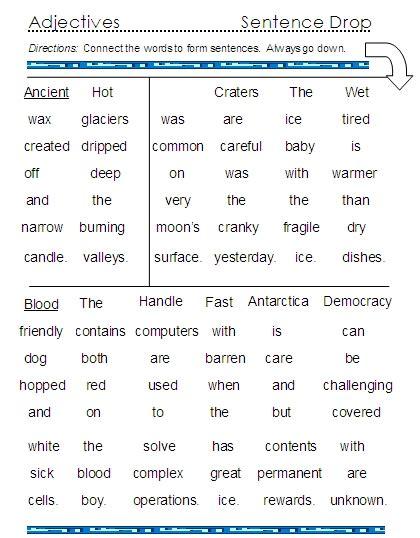 worksheets adjectives worksheets for grade 3 pdf