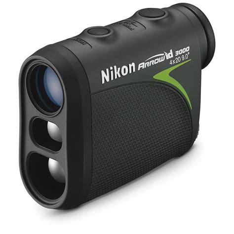nikon arrow id 3000 bowhunting laser rangefinder 665649 rangefinders at sportsman s guide