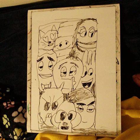emoji quiz film uhr mann zug emoji movie fan art cartoon amino