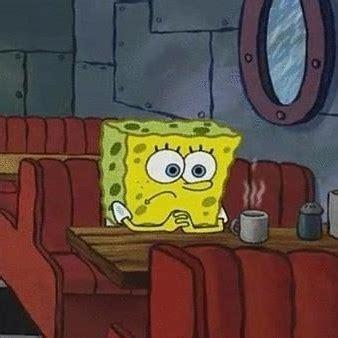 Sad Spongebob Meme - spongebob sad coffee meme generator