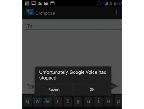 not working on android voice on android 4 2 not working