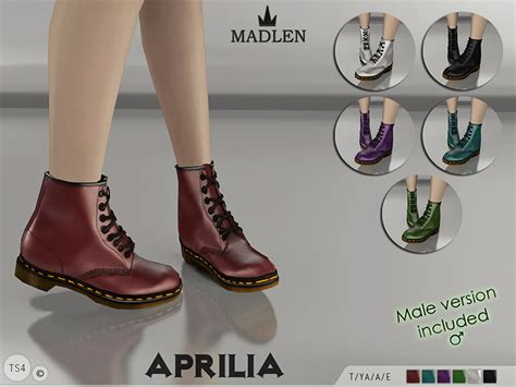 sims 4 shoes the sims resource mj95 s madlen aprilia boots