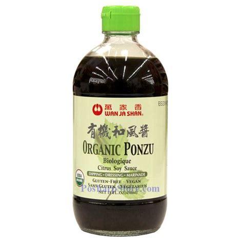 picture of wan ja shan organic ponzu sauce 15 fl oz