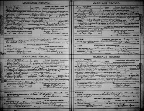 State Of Ohio Marriage Records Genealogy Data Page 27 Notes Pages