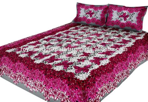 indian bed sheets luxury cotton india bedding beautiful elephant 3p elegant