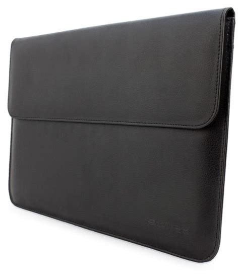 Monocozzi Shell 11inch For Macbook Air Black snugg 11 inch black leather sleeve for macbook air buy snugg 11 inch black leather sleeve