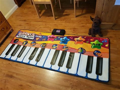 piano play mat kids giant keyboard playmat children