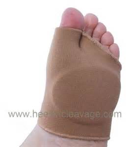 ball of foot metatarsal gel sleeve cushion front of foot pain pads