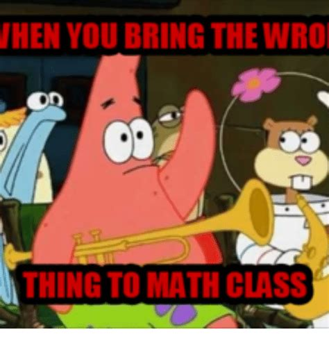 Spongebob And Patrick Memes - spongebob in class www pixshark com images galleries