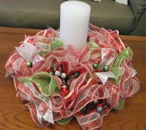 wreath centerpieces deco mesh centerpiece table wreath centerpiece