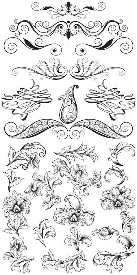 wedding invitation ornaments vector wedding vector graphics page 2