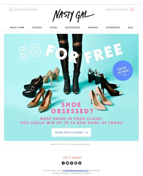 designspiration newsletter shoe obsessed in emailstashco