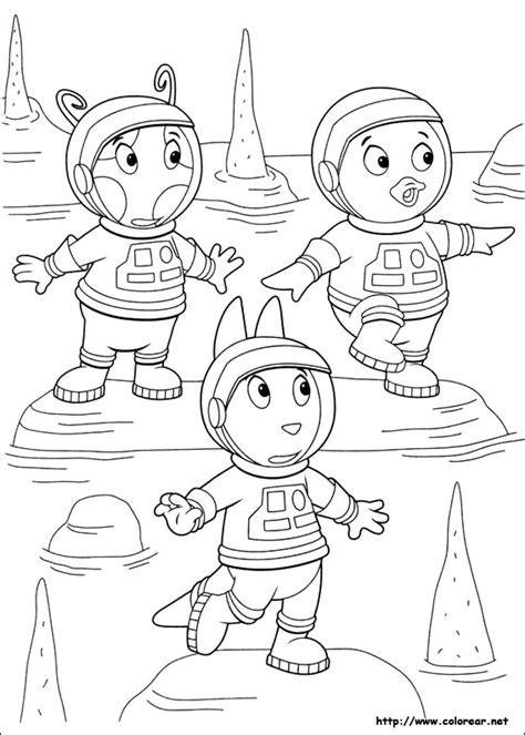 backyardigans dibujos y fotos para pintar colorear imagenes para pintar backyardigans imagui