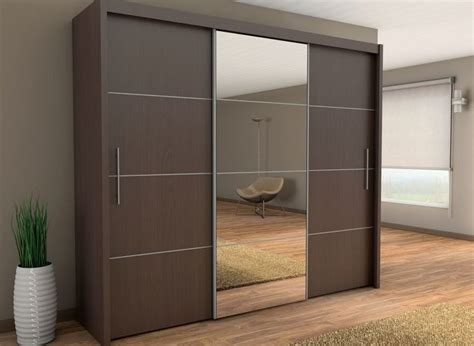 brand new modern bedroom wardrobe sliding door with mirror