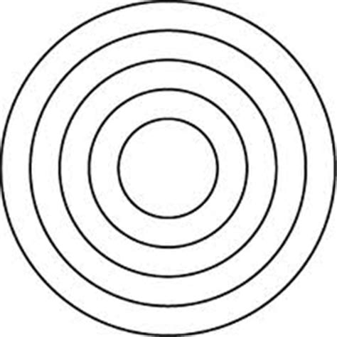 Best Photos Of 3 Concentric Circles Template 3 Circles Concentric Circles Template