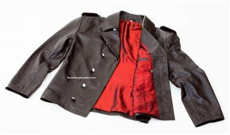 german black leather u boat jacket ww2 german leather u boat kriegsmarine jacket black
