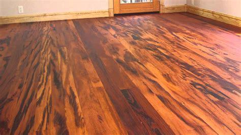 tigerwood hardwood flooring tigerwood hardwood floors youtube