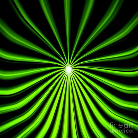 hyperspace electric green square painting by pet serrano