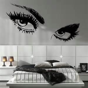 Teen Wall Stickers budget girls eyes wall decals teen 31295 home design ideas