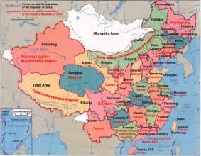 China Provinces Map by Us Visa To China Chinese Maps