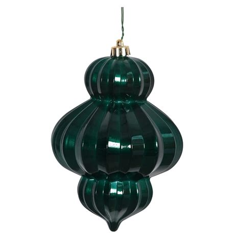 vickerman 388006 6 quot teal candy lantern christmas tree