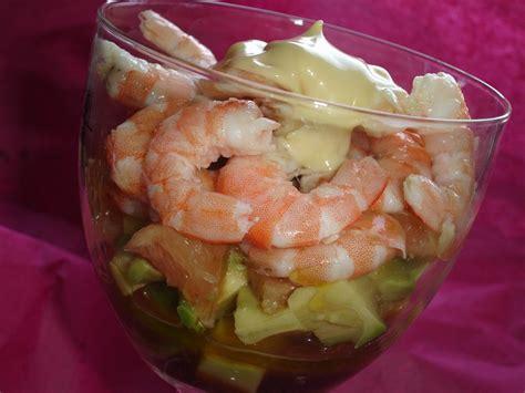 comment cuisiner les crevettes verrines avocat pamplemousse et crevettes les d 233 lices d