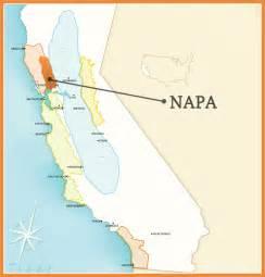 napa california map napa california map