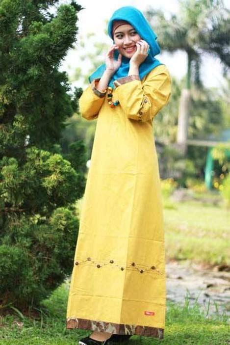 Baju Muslim Gamis Nibras Nb 77 Gold busana muslim koleksi terbaru