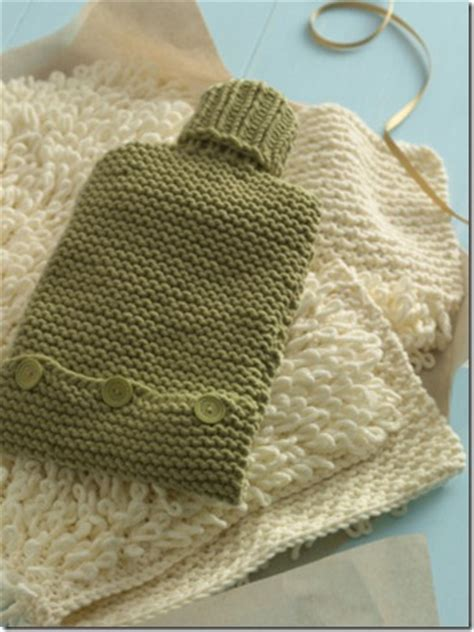 knitting pattern hot water bottle cover water bottle cozy knitting pattern