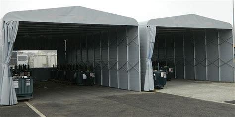 capannoni telonati intenda box auto tunnel estensibili in pvc centine