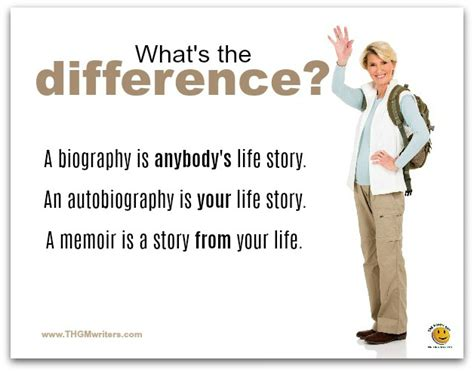 biography and autobiography what is the difference memoir and biography writers for hire thgm writing