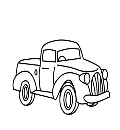 little blue truck coloring pages mason s 1st birthday