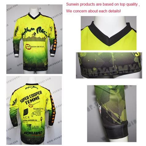 motocross jersey printing youth mx motocross jersey with custom design sublimation