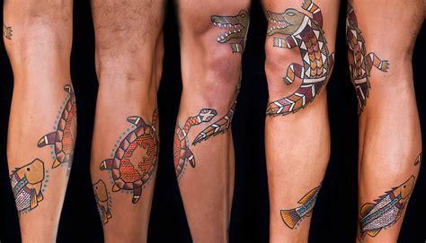 barramundi tattoo designs tatu lu tattoos from the dreamtime lars krutak