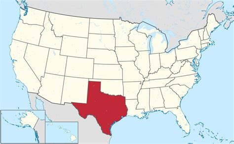 united states map texas list of cities in texas