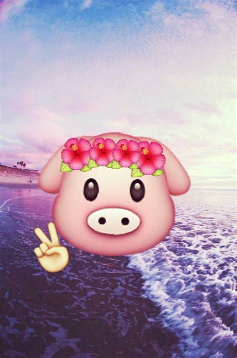 emoji pig uploaded  xerosa   heart