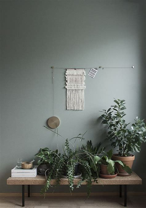 The new grey: green appeal   Gray floor, Green walls and