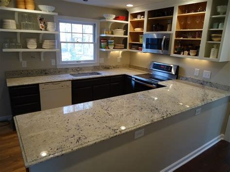 Contemporary Kitchen Countertops Granite Countertops