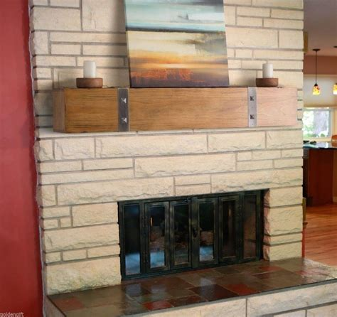 wooden rustic pine timber beam fireplace mantel beam stud