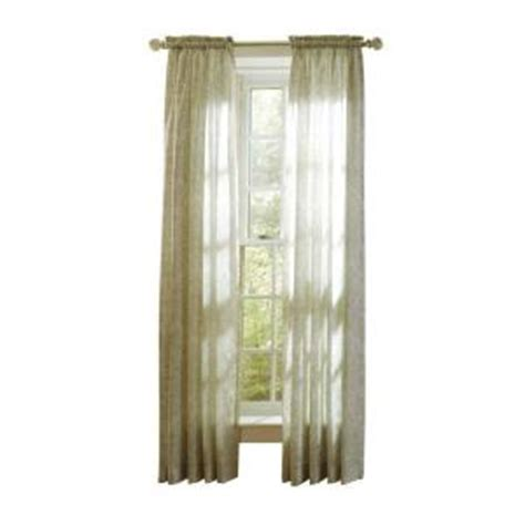 martha living curtains martha stewart living tadpole sheer damask curtain 108 in