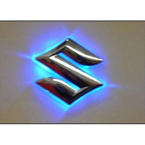 suzuki emblem buy suzuki emblem logo badge car light blue at