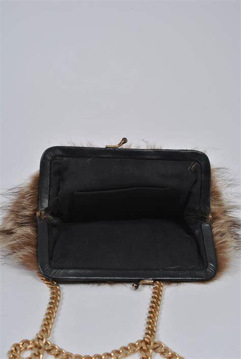 Fashion Bag 209 fur shoulder bag for sale at 1stdibs