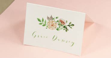 Plain Place Card Template by Printable Place Cards Print Table Cards At Home Lci Paper