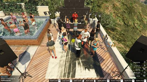 house party 5 franklin s house party gta5 mods com